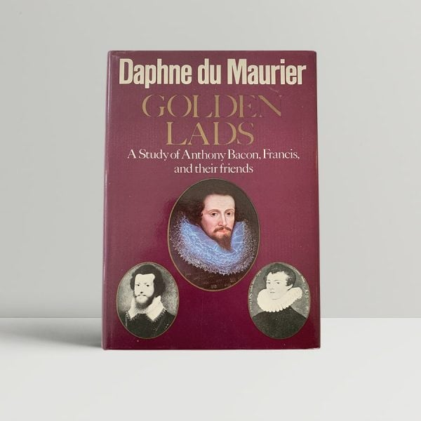 Daphne Du Maurier Golden Lads First Edition Signed