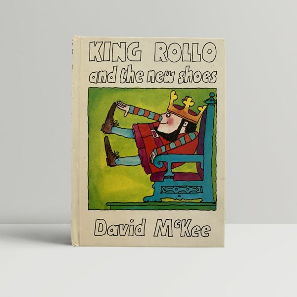 David McKee King Rollo New Shoes First Edition