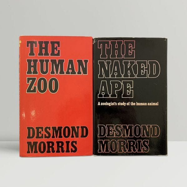 Desmond Morris Human Naked Ape First Edition