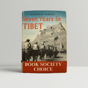 Harrer Seven Years in tibet First Edition