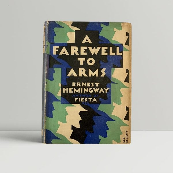 Hemingway A Farewell To Arms First Edition