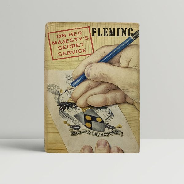 Ian Fleming On Her Majestys Secret Service First Edition