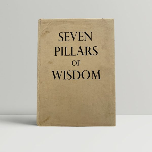 Lawrence The Seven Pillars Of Wisdom First Edition