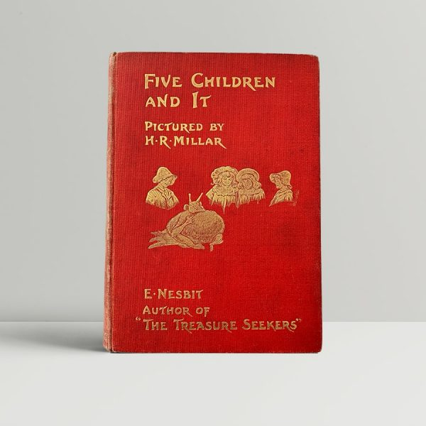 Nesbit Five Children First Edition
