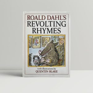 Roald Dahl Revolting Rhymes Signed