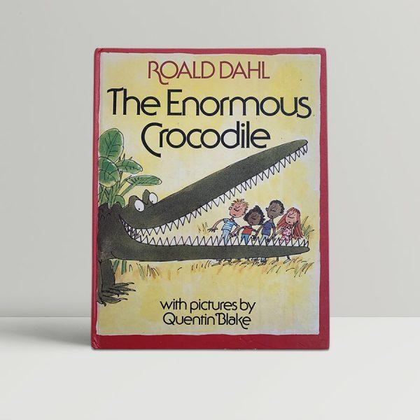 Roald Dahl The Enormous Crocodile Signed
