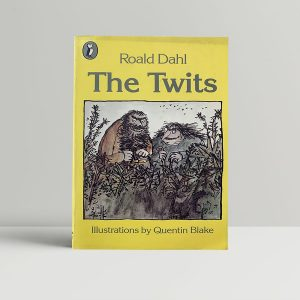 Roald Dahl The Twits Signed