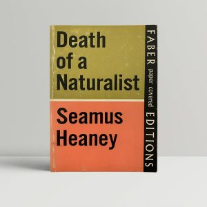 Seamus Heaney Death of A Naturalist First Edition