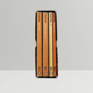 Signed paperbacks Roald Dahl