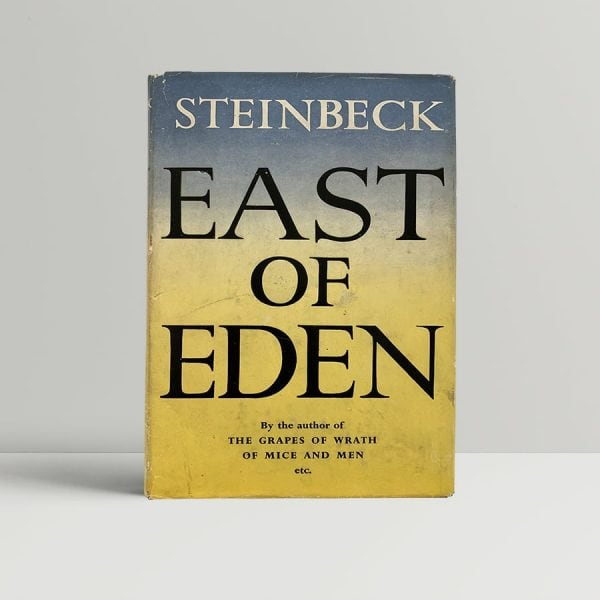 Steinbeck East Of Eden First Edition
