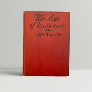 Edith Wharton The Age Of Innocence First Edition