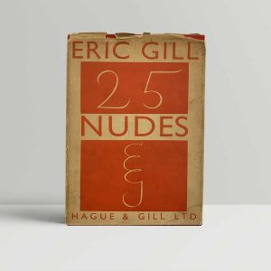 Eric Gill 25 nudes First Edition