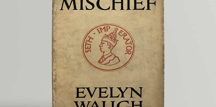 Evelyn Waugh Black Mischief First Edition Signed