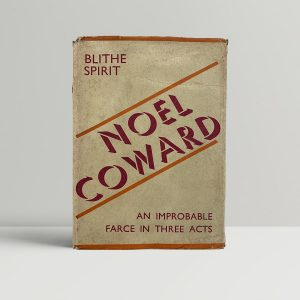 Noel Coward Blithe Spirit First Edition