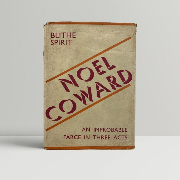 Noel Coward Blithe Spirit First Edition