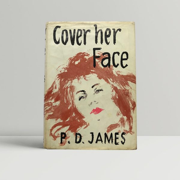 P D James Cover Her Face First Edition