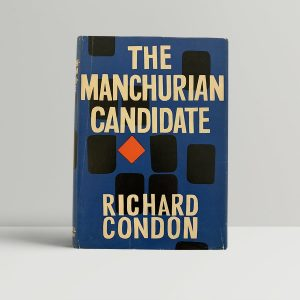 Richard Condon Manchurian Candidate First Edition