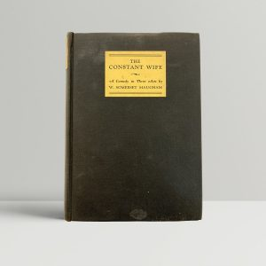 Somerset maugham The Constant Wife First Edition