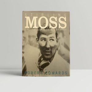 Stirling Moss Biography Signed