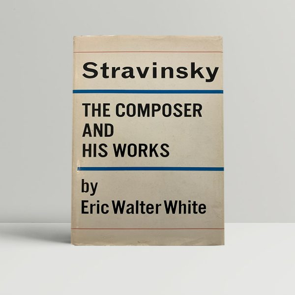 Stravinsky First Edition Signed