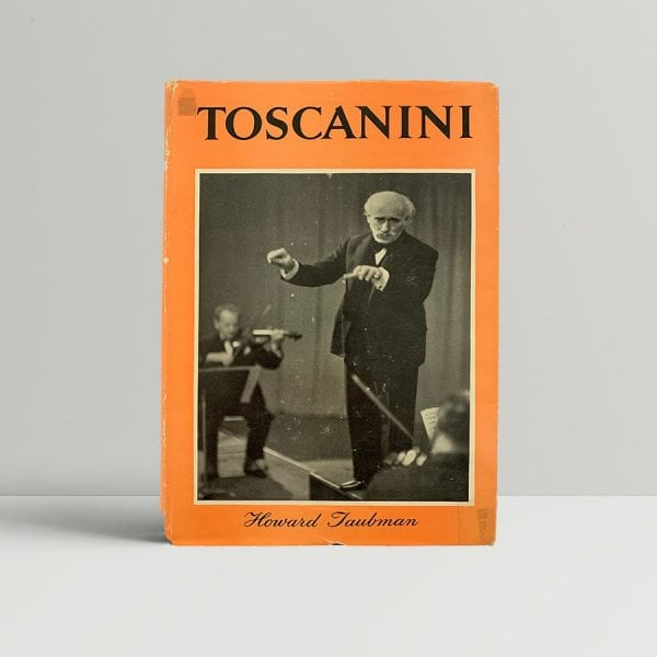 Toscanini First Edition Book