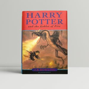 jk rowling goblet of fire first edition1