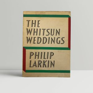 philip larkin the whitsun weddings first edition1