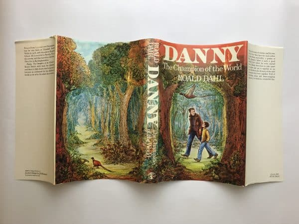 roald dahl danny champion of the world first ed4