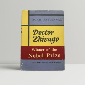 Doctor Zhivago Pasternak First Edition