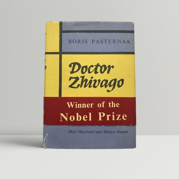 Doctor Zhivago Pasternak First Edition