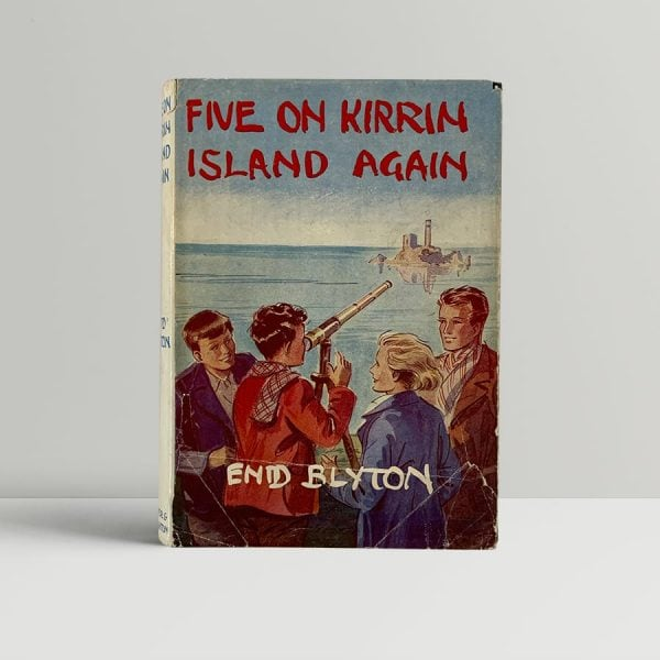 Enid Blyton Five On Kirrin Island First Edition