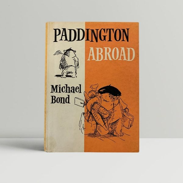 Enid Blyton Paddington Abroad First Edition