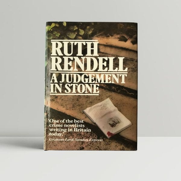 Rendell A Judgment In Stone First Edition