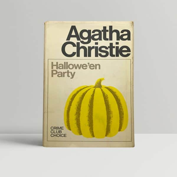 agatha christie halloween party 1st ed1
