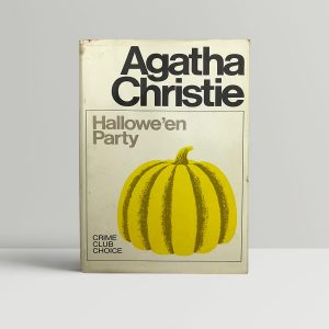 agatha christie halloween party first edition1
