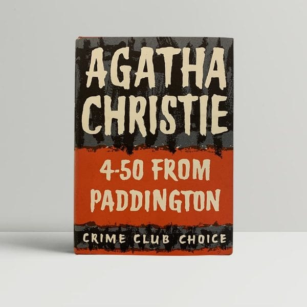 Agatha Christie 4 50 Paddington First Edition