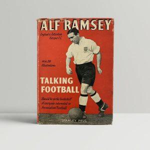Alf Ramsey Talking Football First Edition