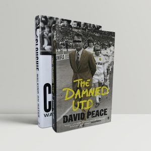David Peace Brian Clough First Edition Signed Damned United