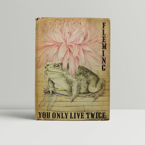 Fleming You Only Live Twice First Edition