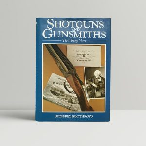 Geoffrey Boothroyd Shotguns First Edition Rare Ian Fleming