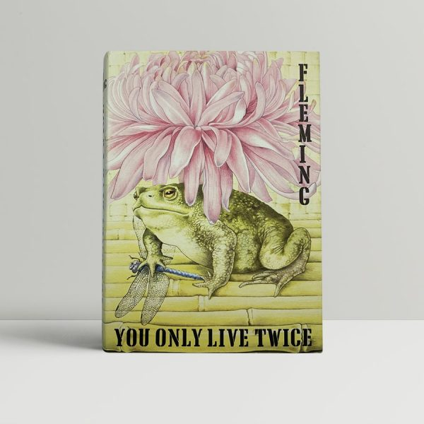 Ian fleming you only live twice first ed975 1