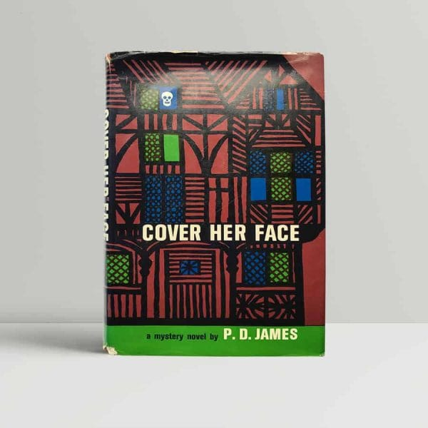 James Cover Her Face First Edition