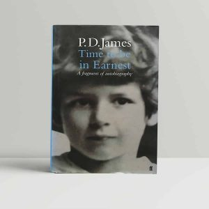 James Time To Be In Earnest First Edition