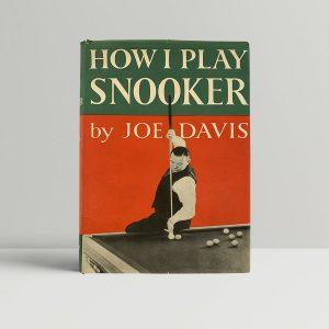 Joe Davis Snooker First Edition Signed