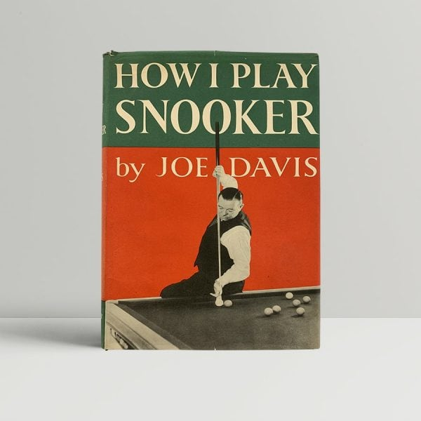 Joe Davis Snooker First Edition Signed