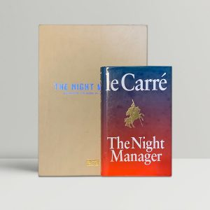 Le Carre The Night Manager First Edition Press Kit Signed