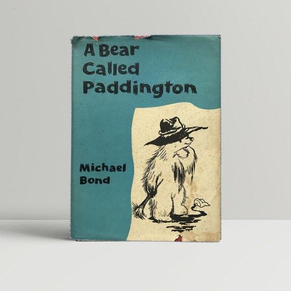 Michael Bond A Bear Called Paddington First Edition