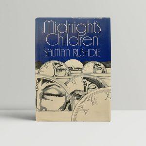 Salman Rushdie Midnights Children First Edition Booker