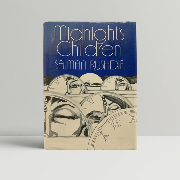 Salman Rushdie Midnights Children First Edition Booker