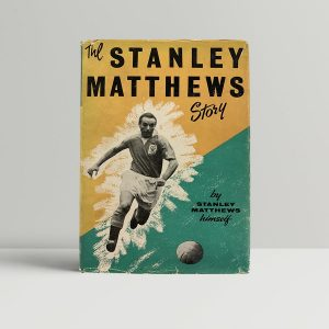 Stanley Matthews Story First Edition Rare Signed